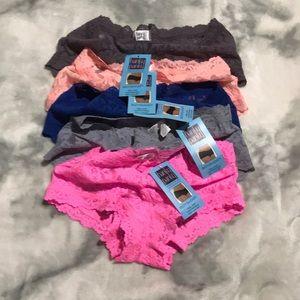 Hanky Panky Intimates & Sleepwear - 💋Just in💋Small 5 pack Boyshorts